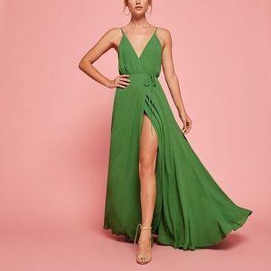 Reformation Callalily Green Mojito Dress 4 NWT 💚